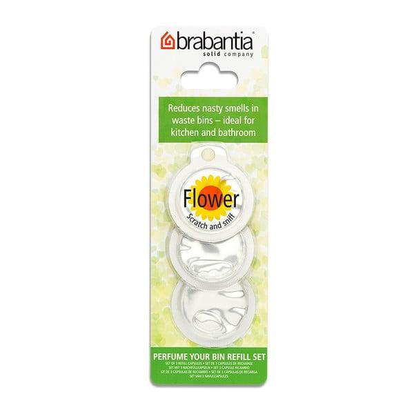 Zestaw 3 zapachów do kosza Brabantia Perfume Your Bin Flowers