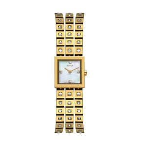 Zegarek damski Alfex 5661 Yelllow Gold/Yellow Gold
