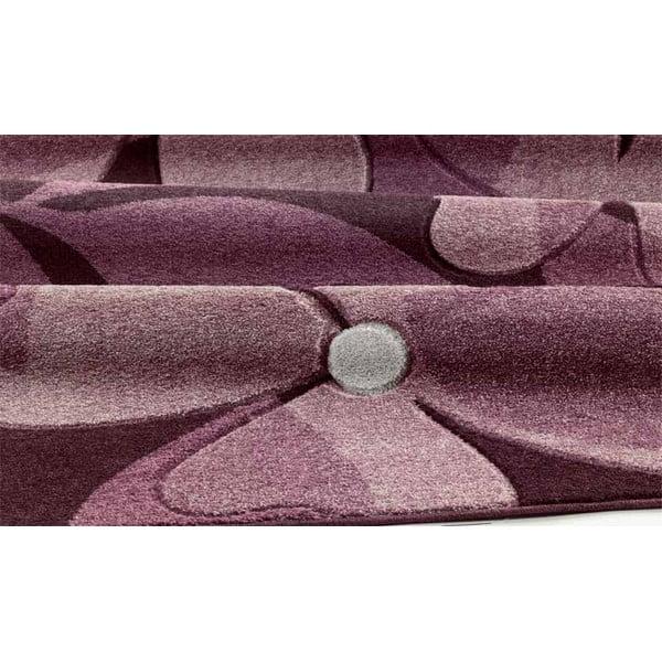 Dywan Webtappeti Intarsio Floral Violet, 140x200 cm