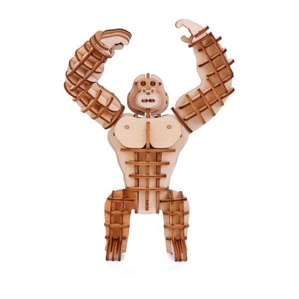 Puzzle 3D z balsy Kikkerland Gorilla