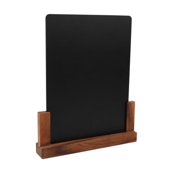 Tablica ze stojakiem z drewna akacjowego T&G Woodware Rustic, wys. 32 cm