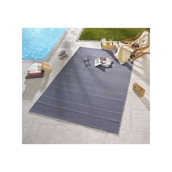 Dywan nadający się na zewnątrz Sunshine 200x290 cm, niebieski