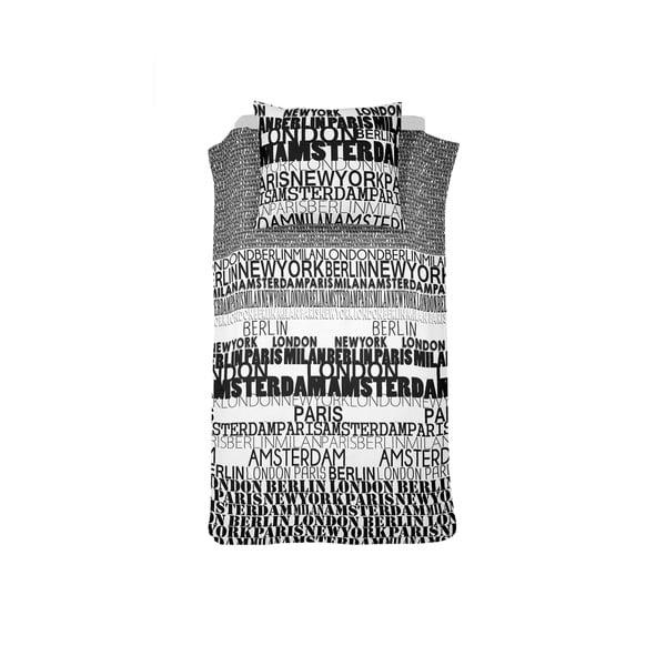 Pościel Case City Black, 140x200 cm