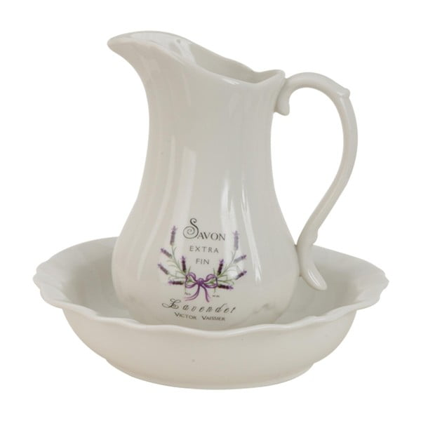 Konewka z miską Lavender
