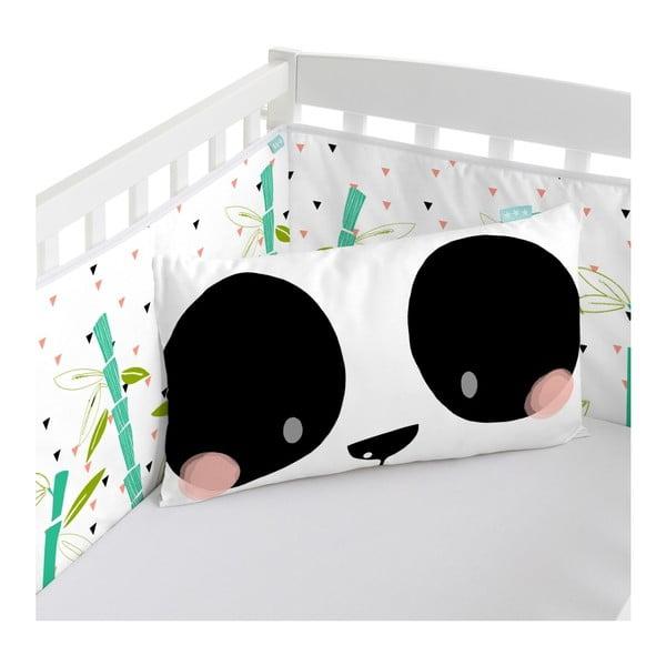 Ochraniacz do łóżeczka Moshi Moshi Panda, 210x40 cm