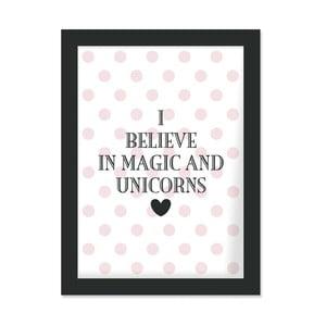 Plakat w ramie I Bealive in Magic, 30x40 cm