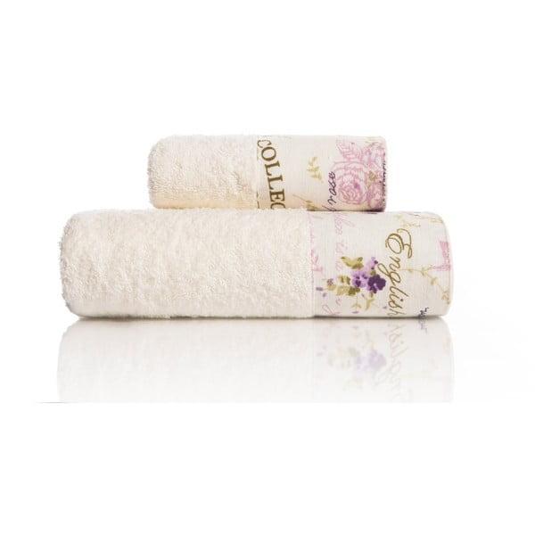 Zestaw 2 ręczników Laska V1, 30x50 cm + 50x90 cm