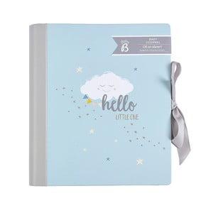 Niebieski pamiętnik małego dziecka Busy B