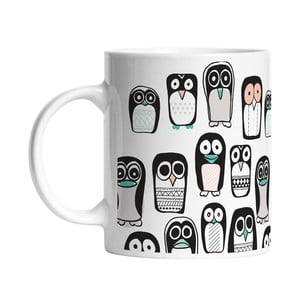 Ceramiczny kubek Penguin Group, 330 ml