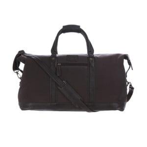 Męska torba Monty Canvas and Leather Bag