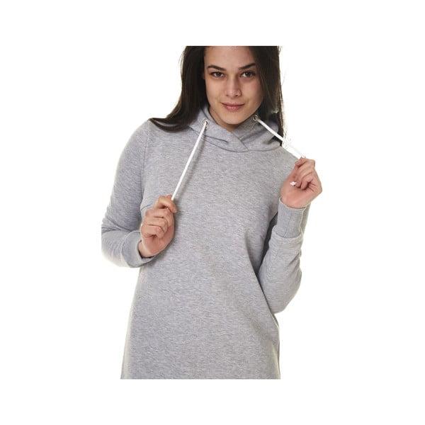 Domowa długa bluza Streetfly Grey, M