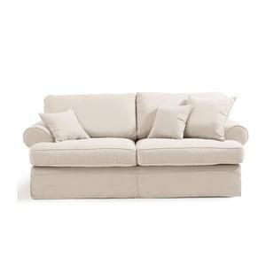 Kremowa sofa trzyosobowa Max Winzer Hermine