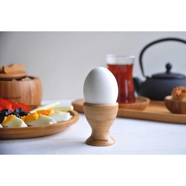 Zestaw 6 kieliszków bambusowych na jajka Bambum Tickle