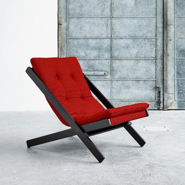 Fotel składany Karup Boogie Black/Red