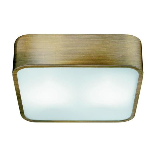 Lampa sufitowa Searchlight Flush, 30 cm, złota