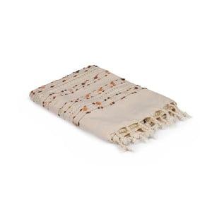 Beżowy obrus bawełniany Kardelen, 150x150 cm