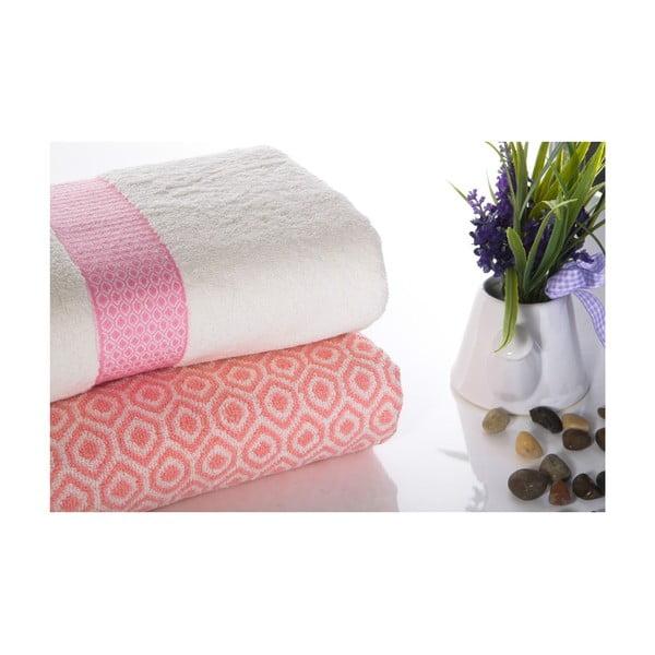Zestaw 2 ręczników Alice V2, 50x90 cm