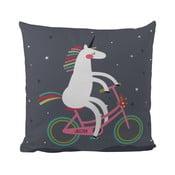 Poduszka Butter Kings Unicorn With A Bike, 50 x 50 cm
