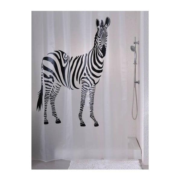 Zasłona prysznicowa Zebra, 180x180 cm