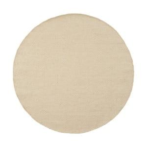Wełniany dywan Asko White, 150 cm