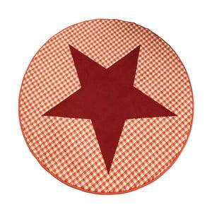 Dywan City & Mix - czerwona gwiazda, 140 cm