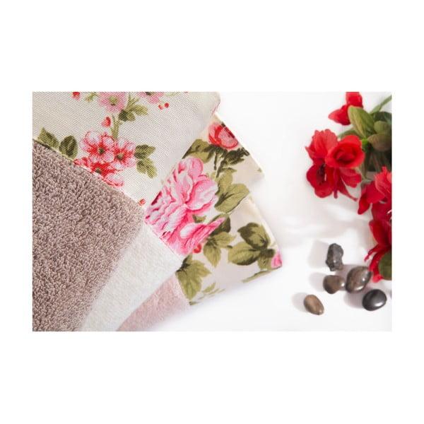 Zestaw 3 ręczników Milena, 50x90 cm