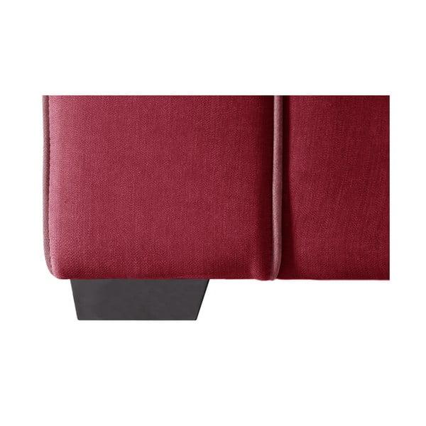 Sofa dwuosobowa Jalouse Maison Serena, czerwona