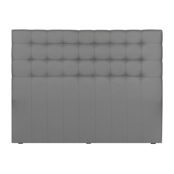 Zagłówek łóżka w kolorze srebra Windsor & Co Sofas Deimos, 180x120 cm