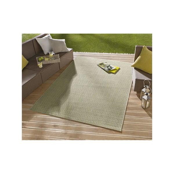 Dywan nadający się na zewnątrz Meadow 160x230 cm, zielony