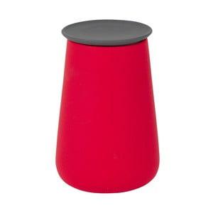 Ceramiczny pojemnik Gomme, czerwony