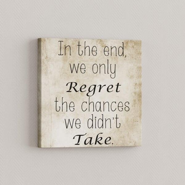 Obraz Regret, 33x33 cm
