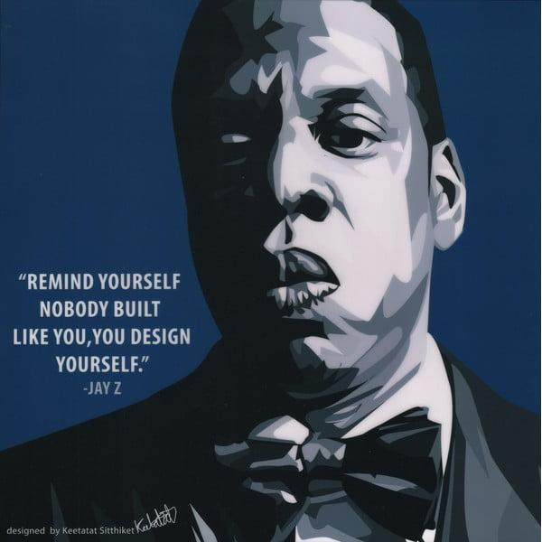 "Obraz ""Jay Z"""