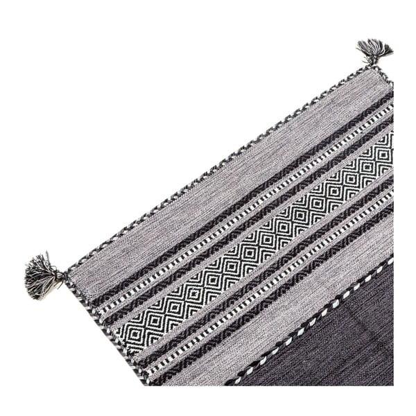 Dywan ręcznie tkany Kilim Tribal 102, 90x60 cm