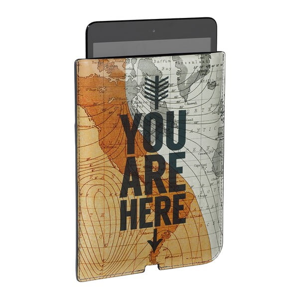 Pokrowiec na mini tablet You Are Here