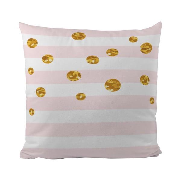 Poduszka   Gold Bubble, 50x50 cm
