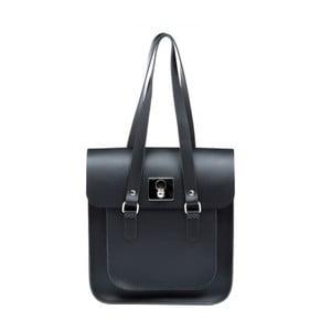 Czarno-niebieska skórzana torebka Brix + Bailey Rosemont