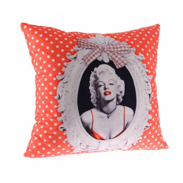 Poduszka InArt Orange Marilyn, 45x45 cm