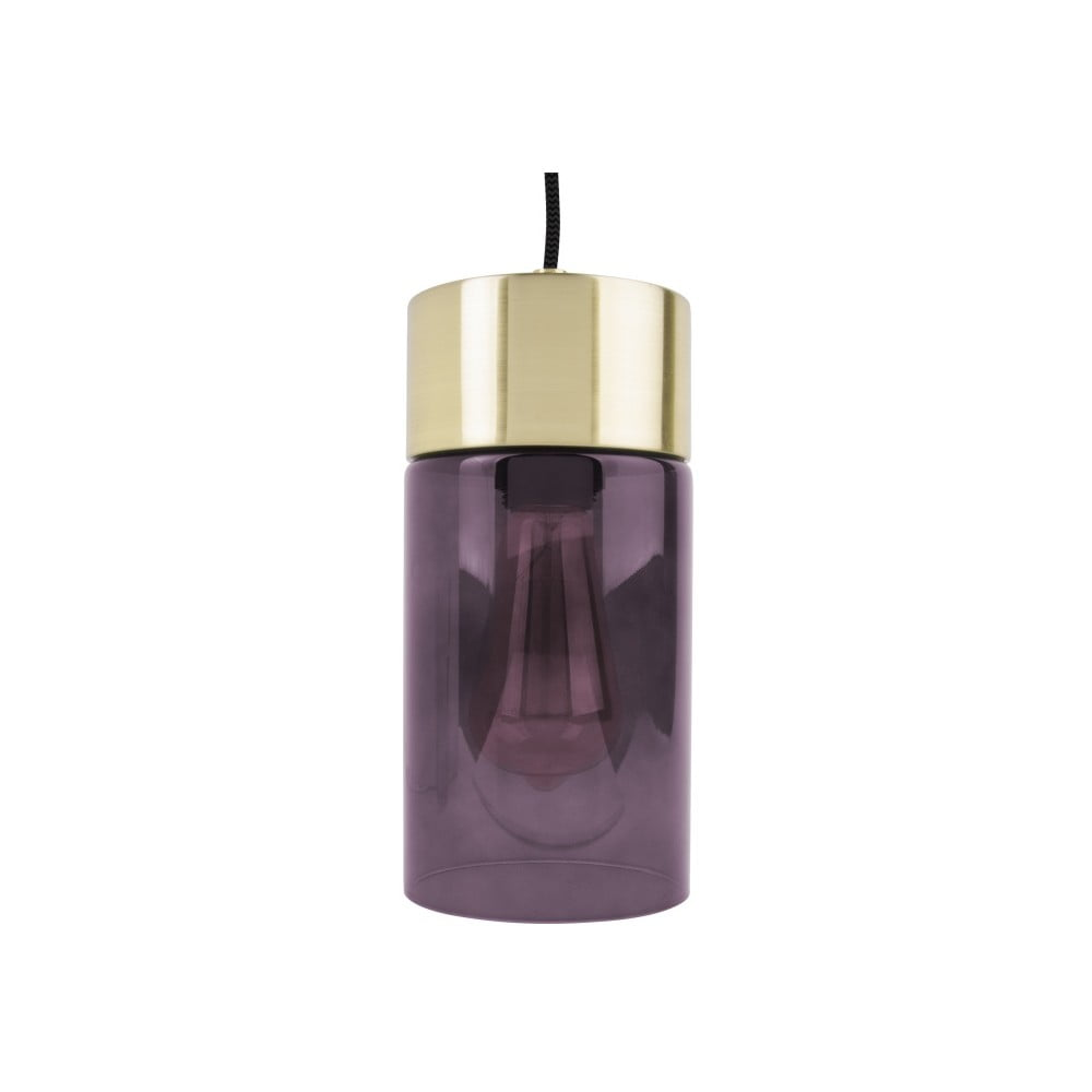 Fioletowa lampa wisząca Leitmotiv LAX
