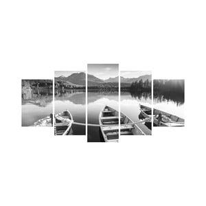 Wieloczęściowy obraz Black&White no. 74, 100x50 cm