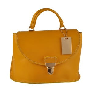 Żółta torebka skórzana Matilde Costa Olivos