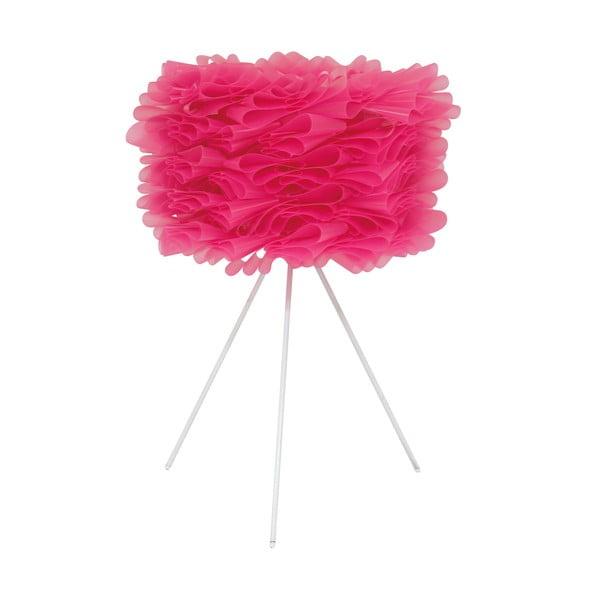 Lampa stołowa Foam, różowa