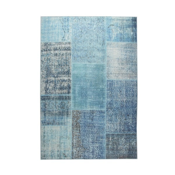 Niebieski dywan EkoRugs Oina, 140x200cm