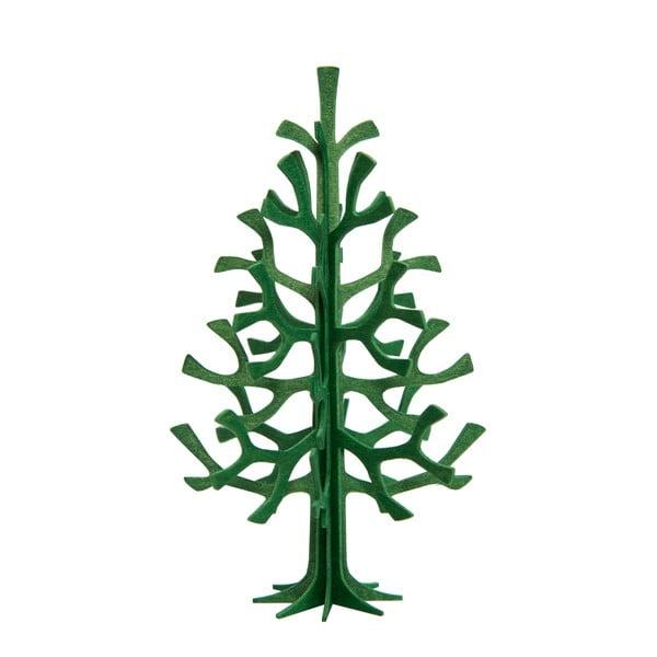 Składana pocztówka Lovi Spruce Dark Green, 12 cm