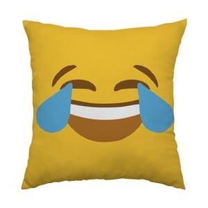 Poduszka Emoji Cry, 40x40 cm