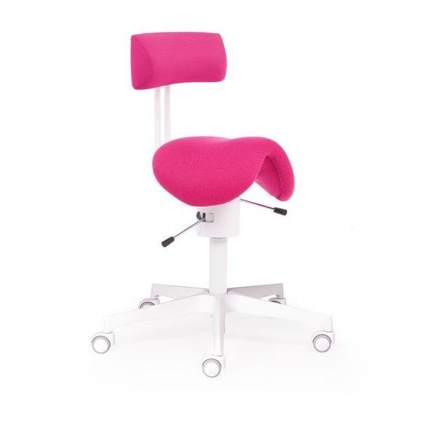 Krzesło biurowe Ergo Flex WT, różowe