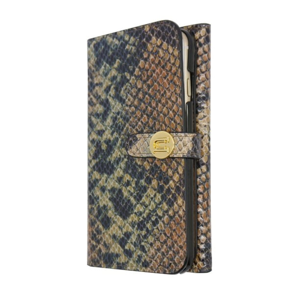 Etui na iPhone6 Wallet Snake Tan