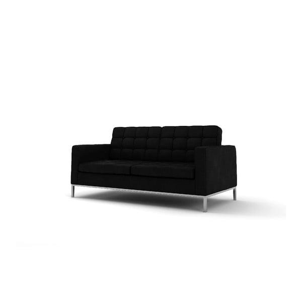Dwuosobowa sofa Eagle, czarna