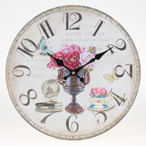 Zegar ścienny Lovely Flowers