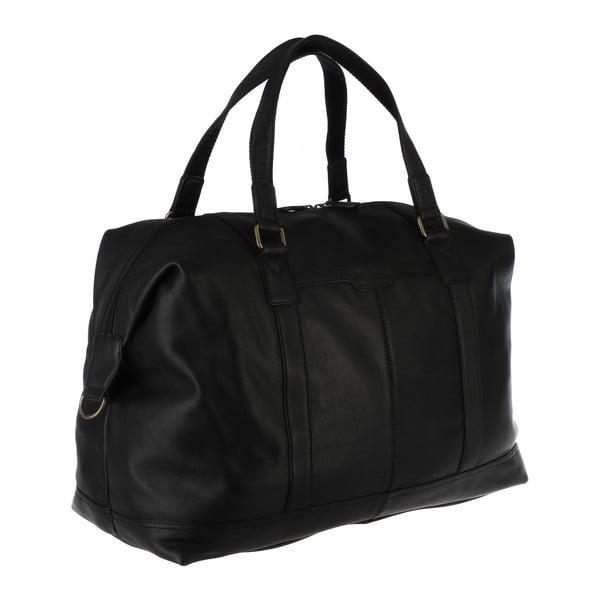 Skórzana torba męska Cabin Black