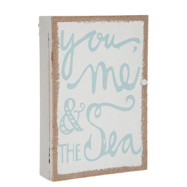 Skrzynka ścienna na klucze You Sea, 30x20x6 cm